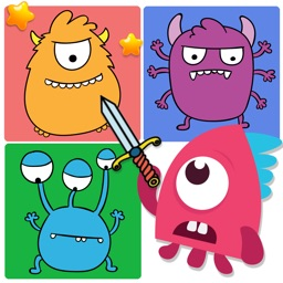 Cute Monster Find The Pairs