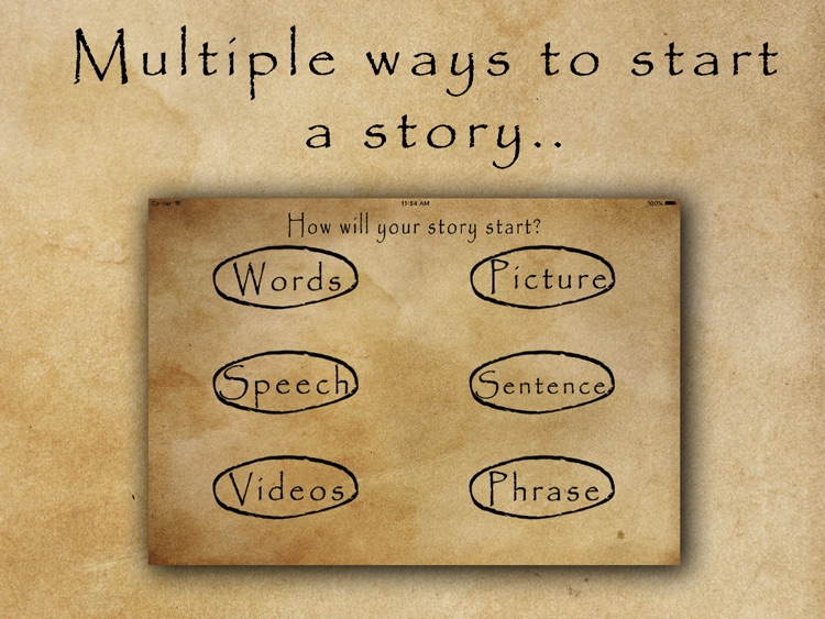 Story Starters by Matthew Knowles