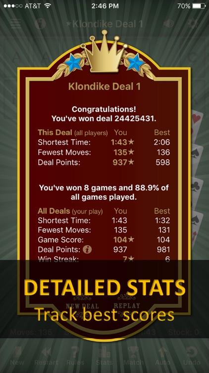 Solebon Solitaire - 50 Games screenshot-4