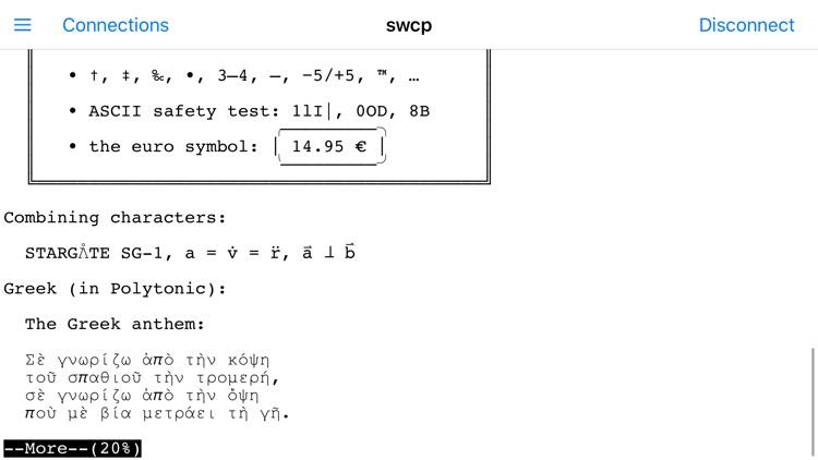 SecureCRT for iOS screenshot-3