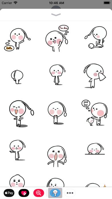 点击获取Little Alien Animated Stickers