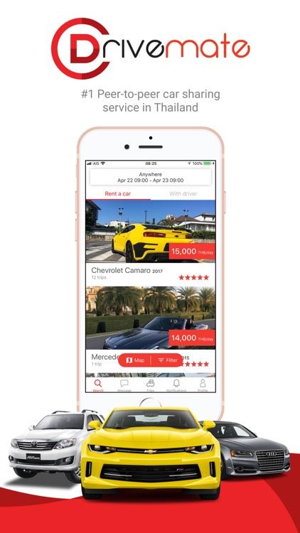 Drivemate: P2P car rental