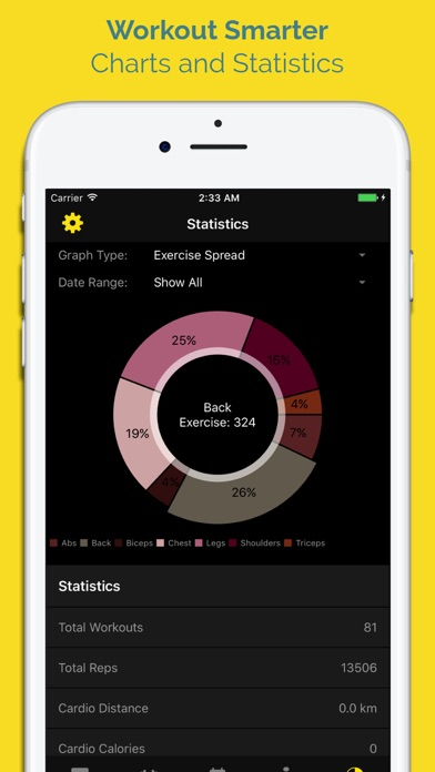 WORKIT - Workout Tracker screenshot four