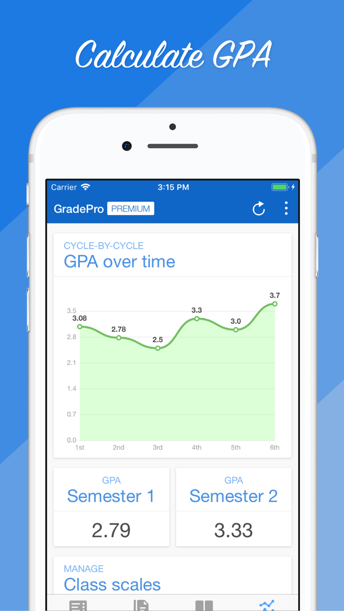 GradePro for GradeSpeed Screenshot