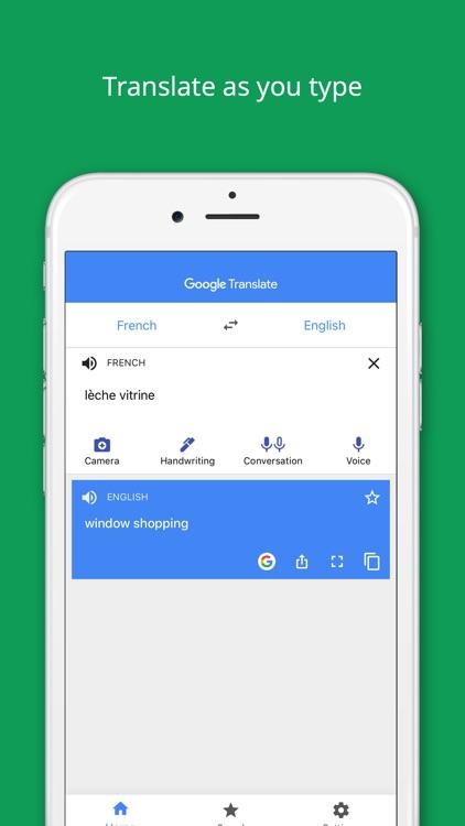 Google Translate screenshot-3