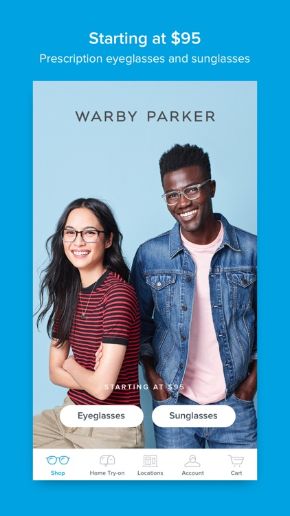 Glasses by Warby Parker screenshot-0