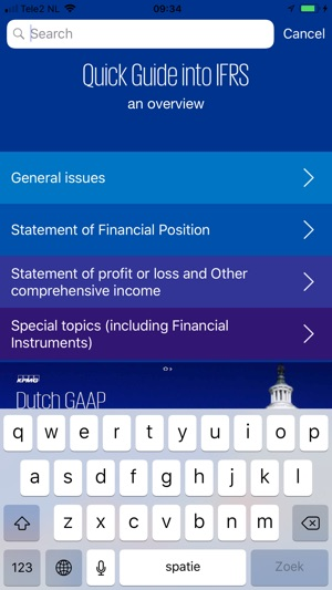 Quick Guide into IFRS on the App Store