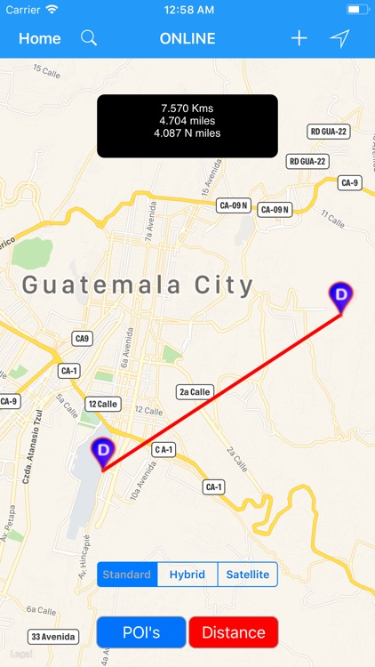 Guatemala City Travel Map screenshot-3