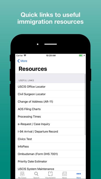 Case Tracker for USCIS screenshot-4