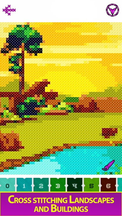 Cross Stitch - Color by Number screenshot-4