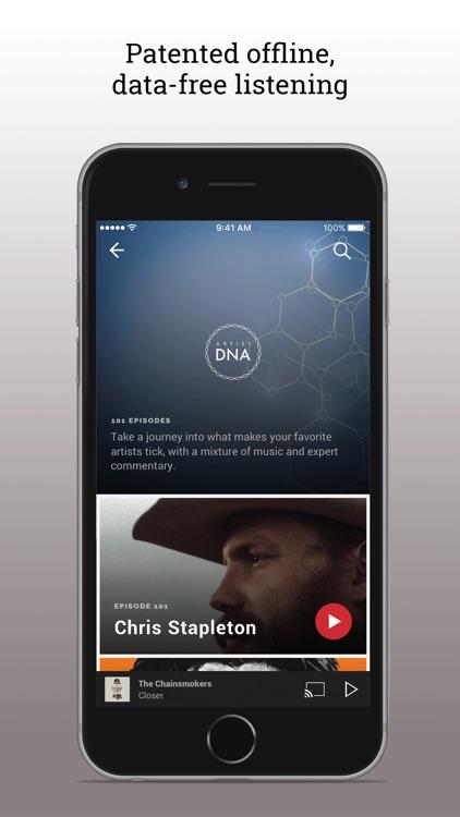 Slacker Radio screenshot-4