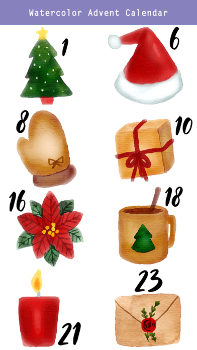 Christmas Advent Calendar Pack screenshot 3