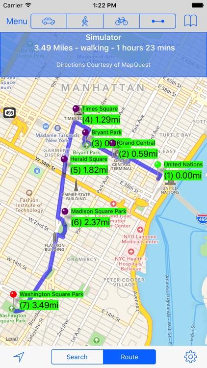 MapMyPlaces screenshot-0