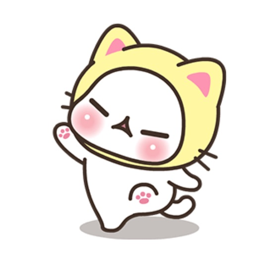 Baby Kitty Meow Meow Stickers