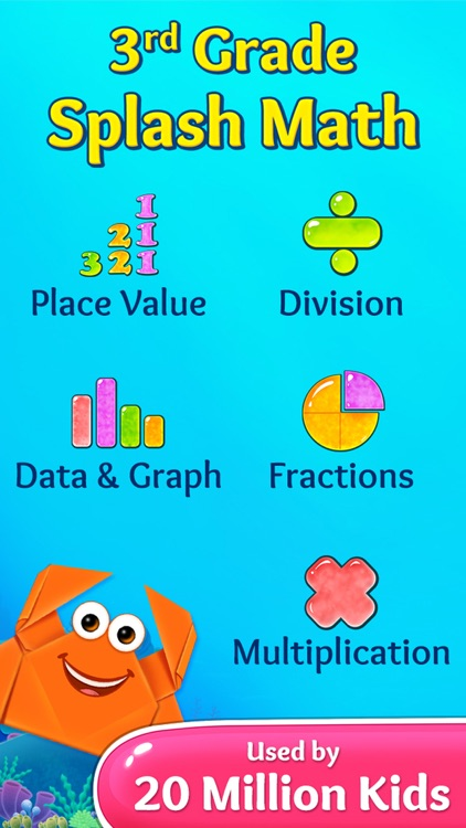 3rd Grade Math Games for Kids screenshot-0