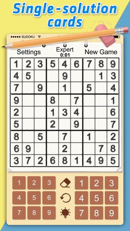 Classic Sudoku Card by Guangzhou 9th Technology Co , Ltd