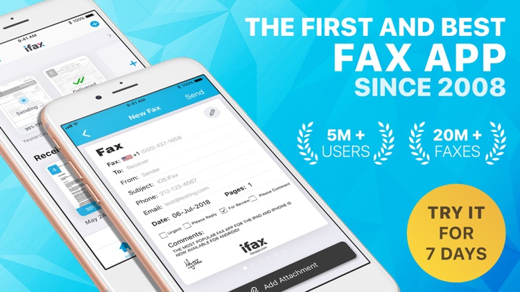 iFax: Fax from iPhone, e fax screenshot-7