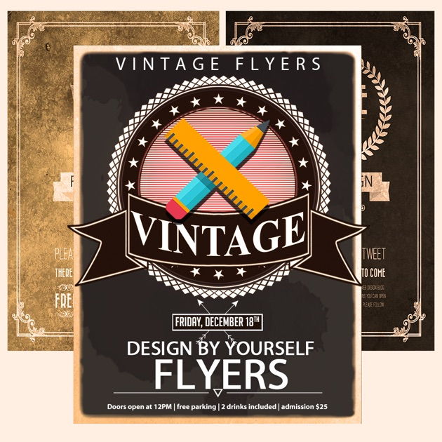 Vintage Logo & Poster Erstell im App Store