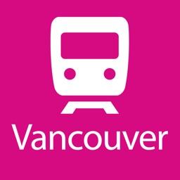 Vancouver Rail Map Lite