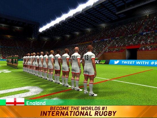 Игра Rugby League 18