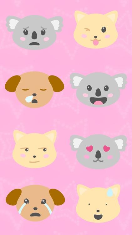 Animal Moji - Cute Pet Emojis screenshot-3