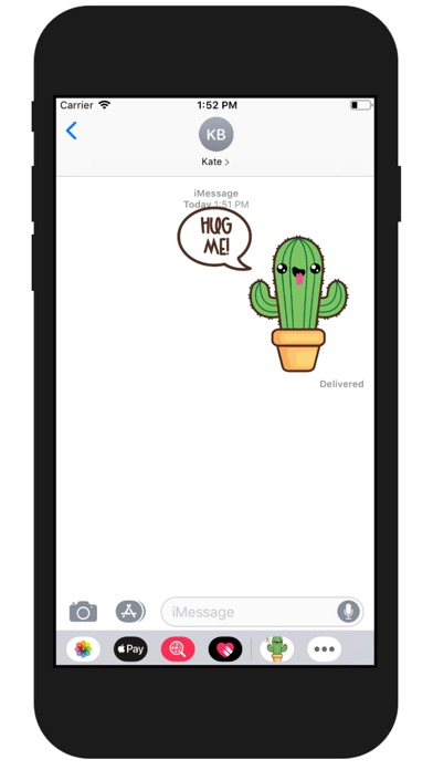 Kawaii Cactus Stickers screenshot one