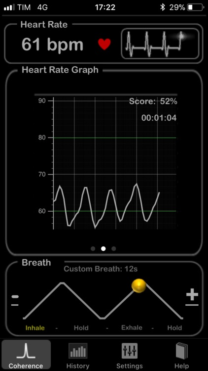 HeartRate+ Coherence screenshot-1
