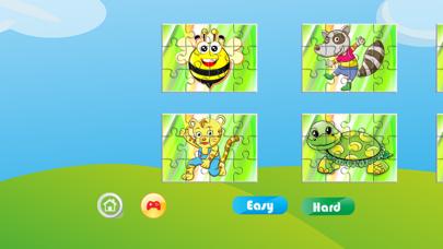 Happy Jigsaws of Animals Game screenshot one