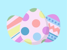 Eggstravaganza Easter Stickers