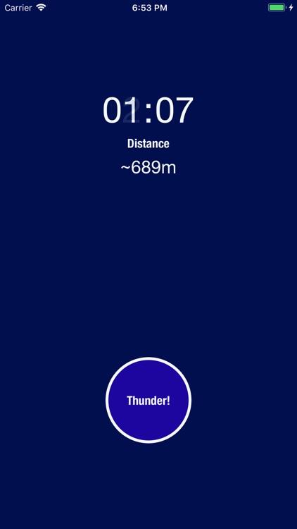 LDM - Lightning Distance Meter