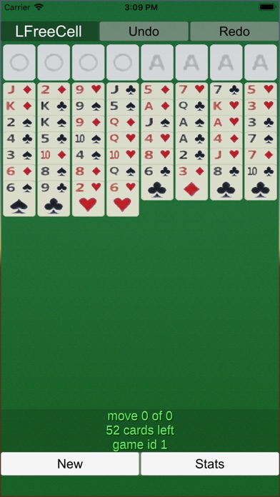 Freecell Solitaire Lfreecell review screenshots
