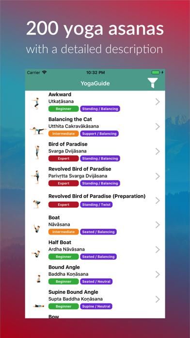 Yoga Guide Asanas Pro screenshot two