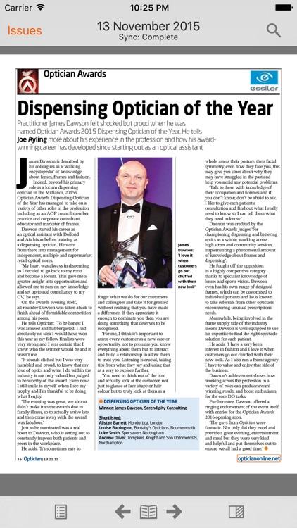 Optician Magazine screenshot-4