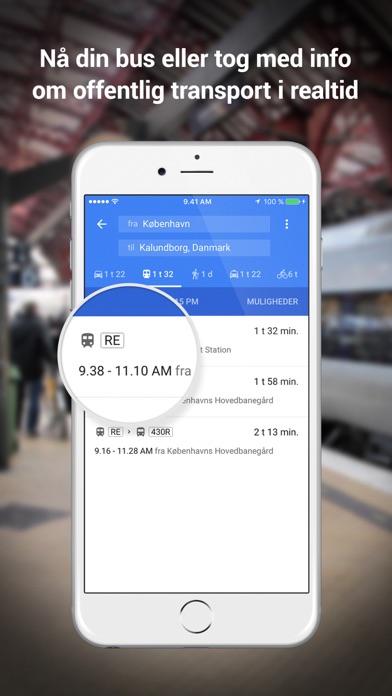 Screenshot for Google Maps in Denmark App Store