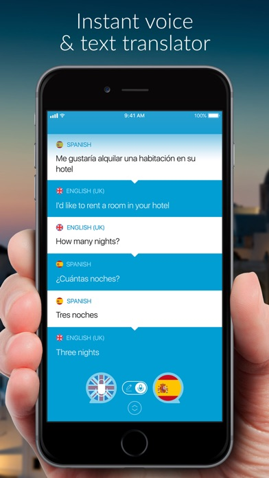 Speak 2 Translate -Live Voice and Text Translator with Speech Screenshot 1
