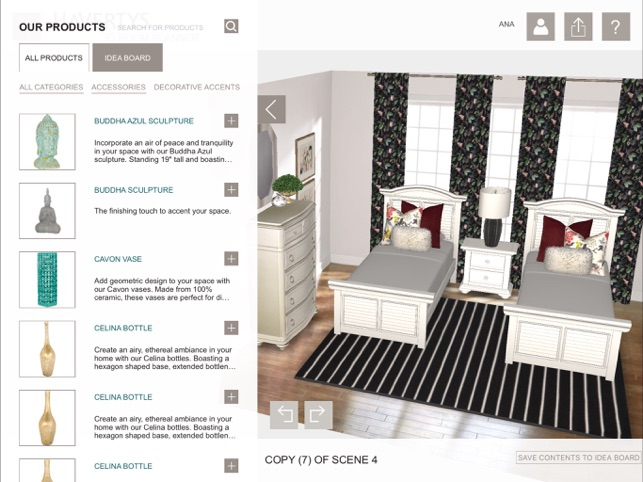 Havertys 3d room planner on the app store for 3d space planner