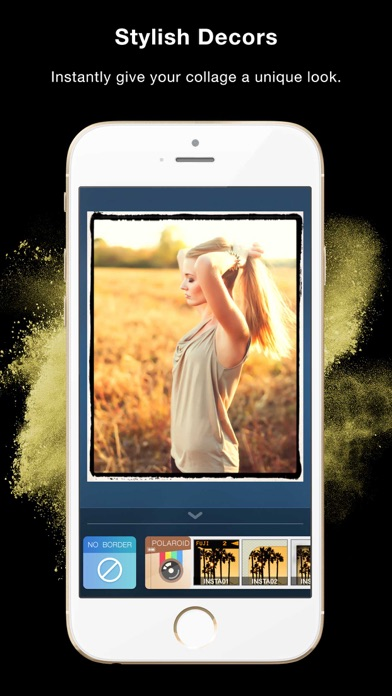 Framatic - Magic Photo Collage and Pic Frame Stitch for Instagram FREE screenshot