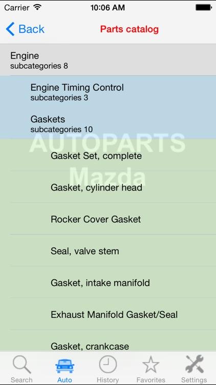 Autoparts for Mazda screenshot-3