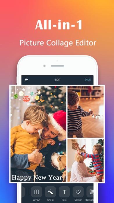 Photo Collage Maker & Photo Editor - Live Collage screenshot