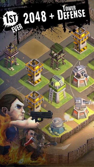 DEAD 2048 screenshot 1