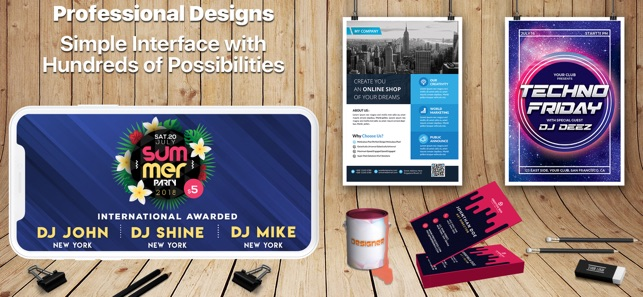 Design & Flyer Creator Pro on the App Store