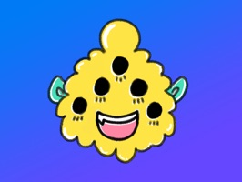 Monstermoji is a fun emoji sticker pack with over 25 cute stickers representing a whole range of emotions from happy to sad to smart