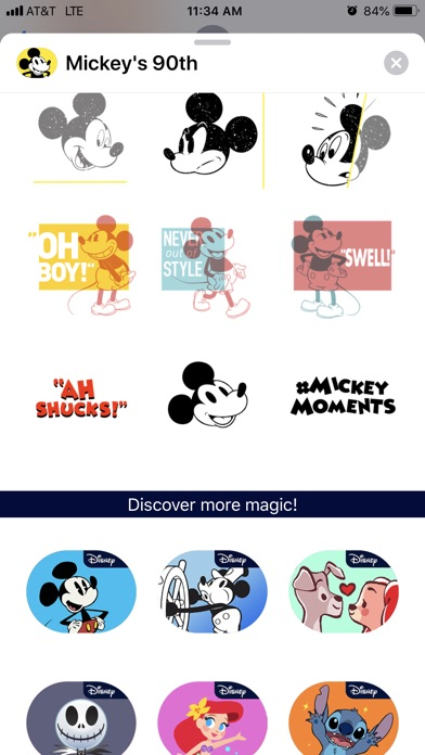 Disney Stickers: Mickey's 90th screenshot 4