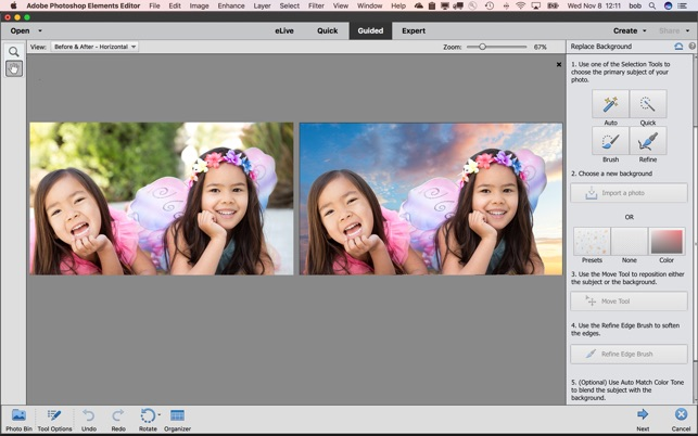 How to add Document and Layer in Adobe Photoshop