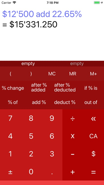 Percentage Calculator 7 screenshot-6