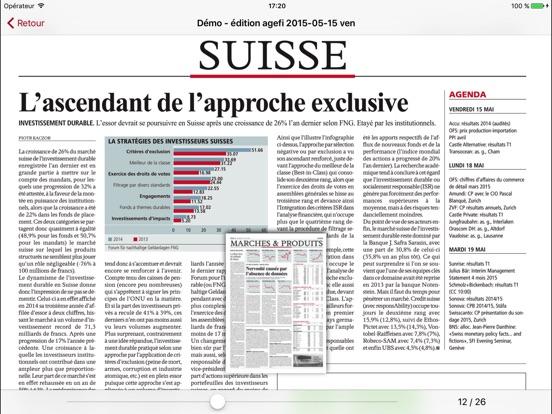 L'Agefi - Genève Скриншоты6