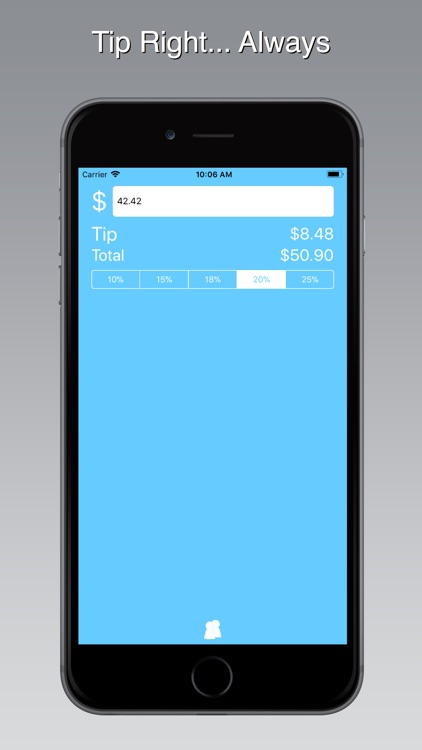 Blue Tip Gratuity Calculator screenshot-3