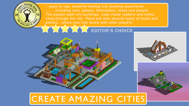 Blox 3D City Creator Screenshot