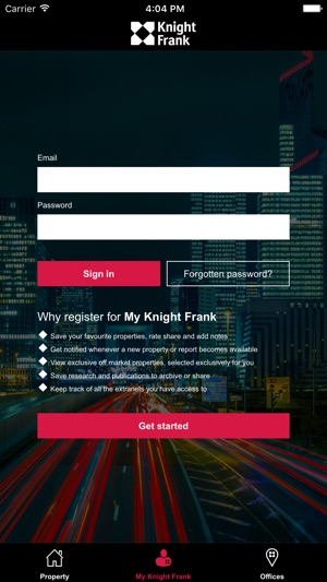 Knight Frank Property on the App Store