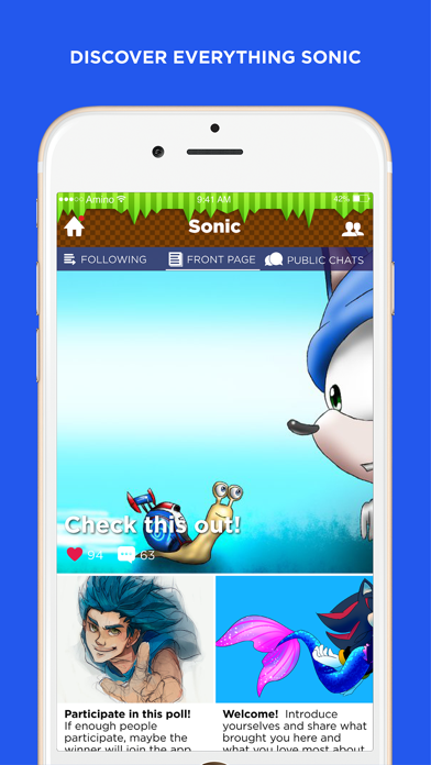 Amino for: Sonic The Hedgehog-0